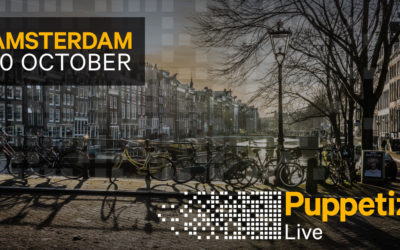 Puppetize Live Amsterdam, October 10, 2018