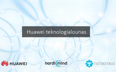 Huawei teknologialounas – eri puolilla Suomea 2018-2019