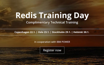 Free Redis Technical Training in Nordics, January 2019