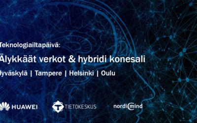 Älykkäät verkot & hybridi konesali: Jyväskylä, Tampere, Helsinki, Oulu