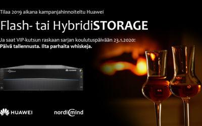 Huawei Storage-kampanja 2019 loppuun asti